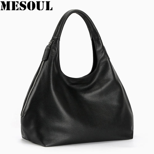 100% Genuine Leather Hobo Bags