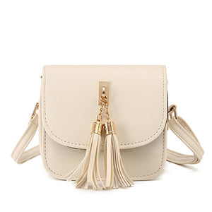 Mara's Dream Fashion Small Chains Bag Women Candy Color Tassel Messenger Bags Female Handbag Shoulder Bag Bolsa Feminina 2017