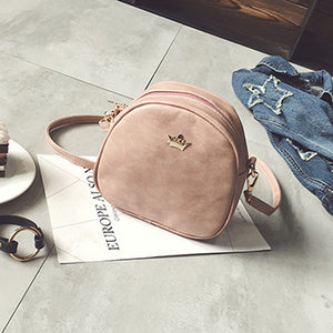 Mara's Dream 2018 Fashion Women Handbag Messenger Bags PU Leather Shoulder Bag Lady Crossbody Mini Bag Female Crown Evening Bags