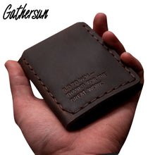 Genuine Leather Wallet Men The Secret Life Of Walter Mitty Cow Leather Wallet Vintage Crazy Horse Handmade Wallet