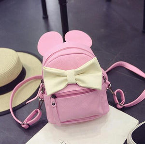 Mini Mickey Backpack Pu Leather