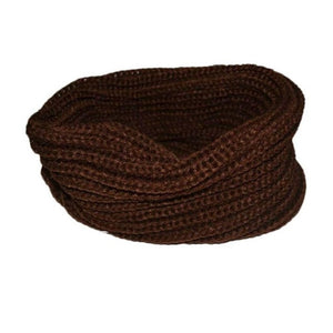 Womens Wool Blend Cowl Snood