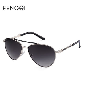 FENCHI Sunglasses Women Driving Pilot Classic Fashion Sunglasses High Quality Metal Frame Brand Designer Glasses 4 Colors