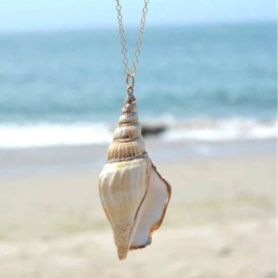 Bohemian Gold Seashell - Sea Shell
