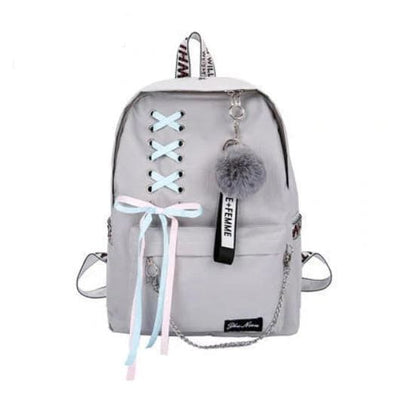 Trifecta 3 Piece Backpack - Cross Gray / 30x13x41cm