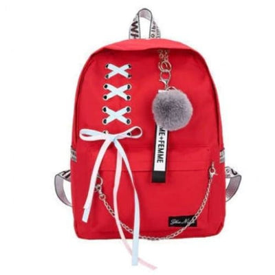 Trifecta 3 Piece Backpack - Cross Red / 30x13x41cm