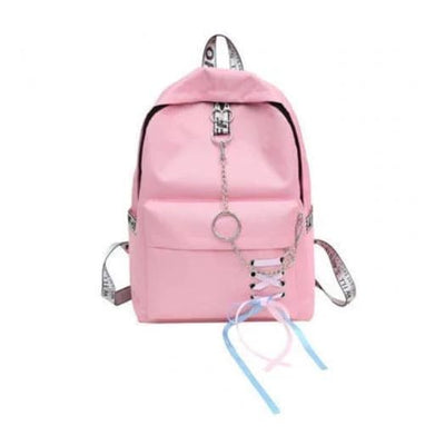 Trifecta 3 Piece Backpack - Solid Pink / 30x13x41cm