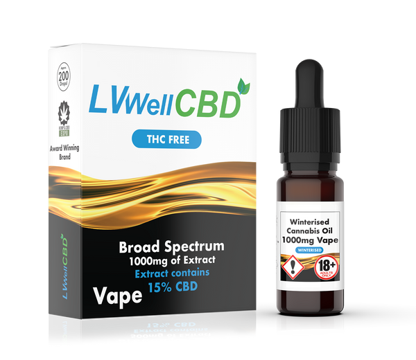 LVWell CBD Winterised Vape 1000mg