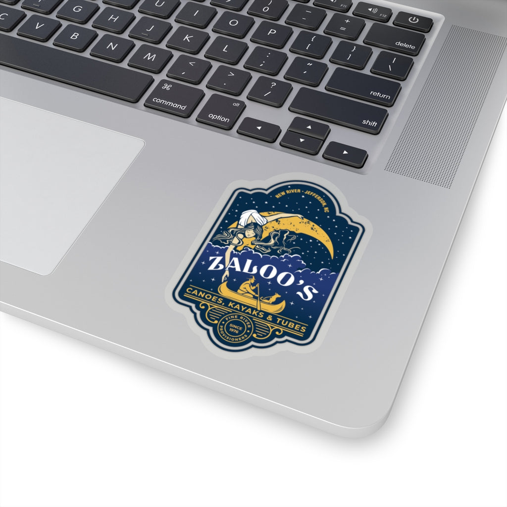 Zaloo's Badge Logo Sticker