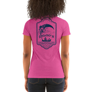 Zaloo's Pink Logo Women's Short-Sleeve T-Shirt