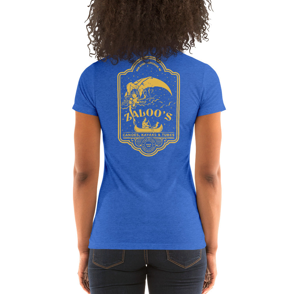 Zaloo's Royal Logo Women's Short-Sleeve T-Shirt