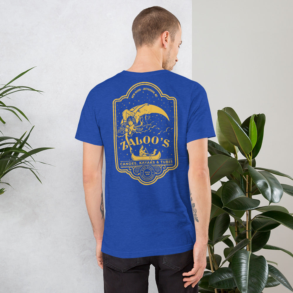 Zaloo's Royal Logo Short-Sleeve Unisex T-Shirt