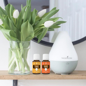 Diffuser Dewdrop ( Cool Mist Humidifier | Night Light)