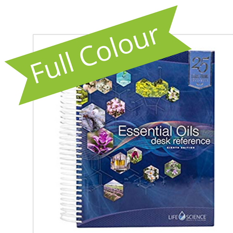 Essential Oils Desk Reference 8th Edition - FULL-COLOR (2019)