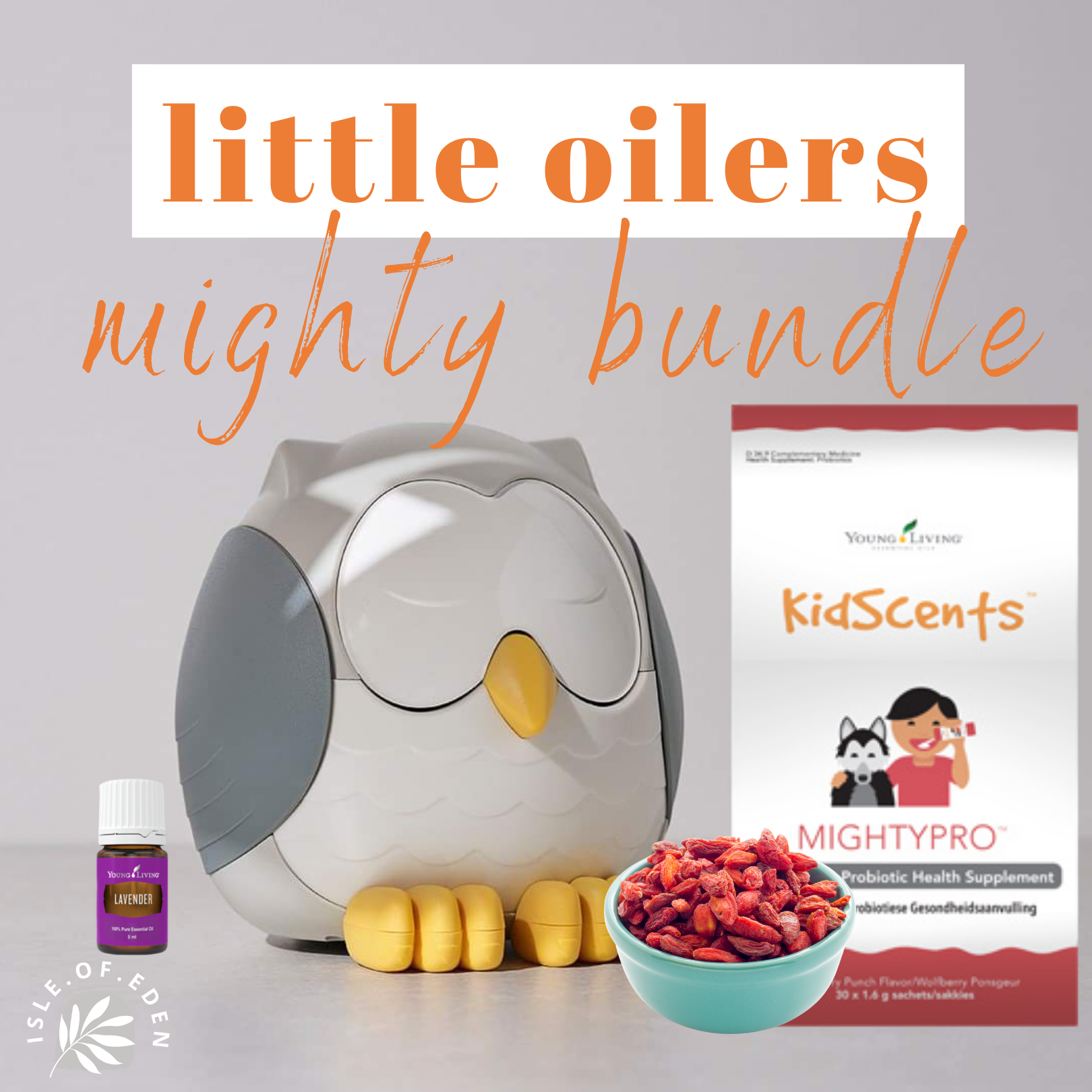 MightyPro Bundle &  Feather The Owl Diffuser( Cool Mist Humidifier | White Noise Machine | Night Light)