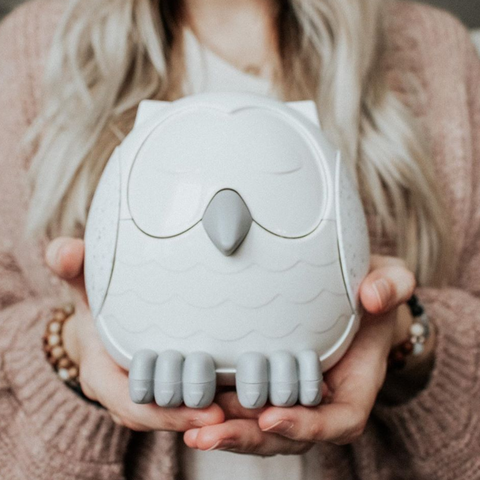 Diffuser SNOWY The Owl ( Cool Mist Humidifier | White Noise Mashine | Night Light)