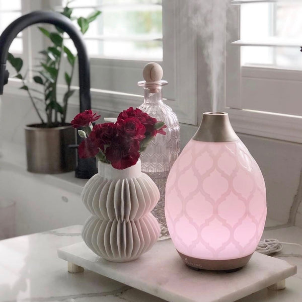 Diffuser DESERT MIST ( Cool Mist Humidifier | Night Light)