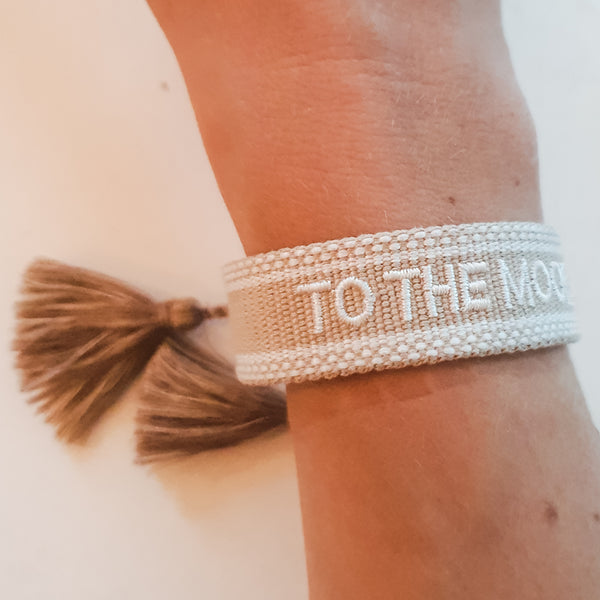 to the moon Armband