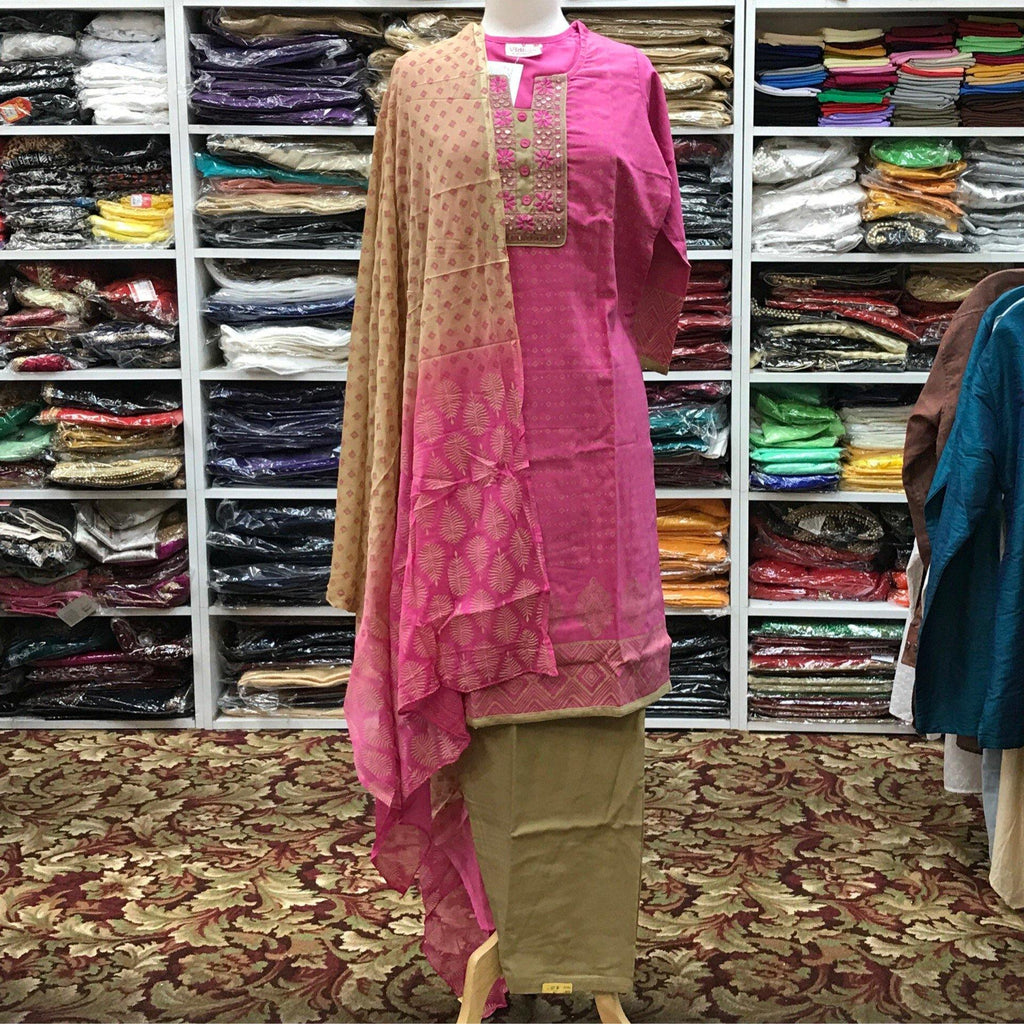 Kurta Shalwar Dupatta Size 40 - Mirage Sari Center