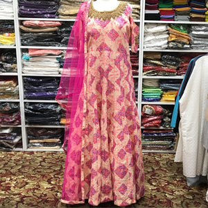 Anarkali Churidar Size 44 - Mirage Sari Center
