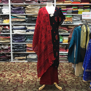 Kurta Plazo Dupatta Size 48 - Mirage Sari Center