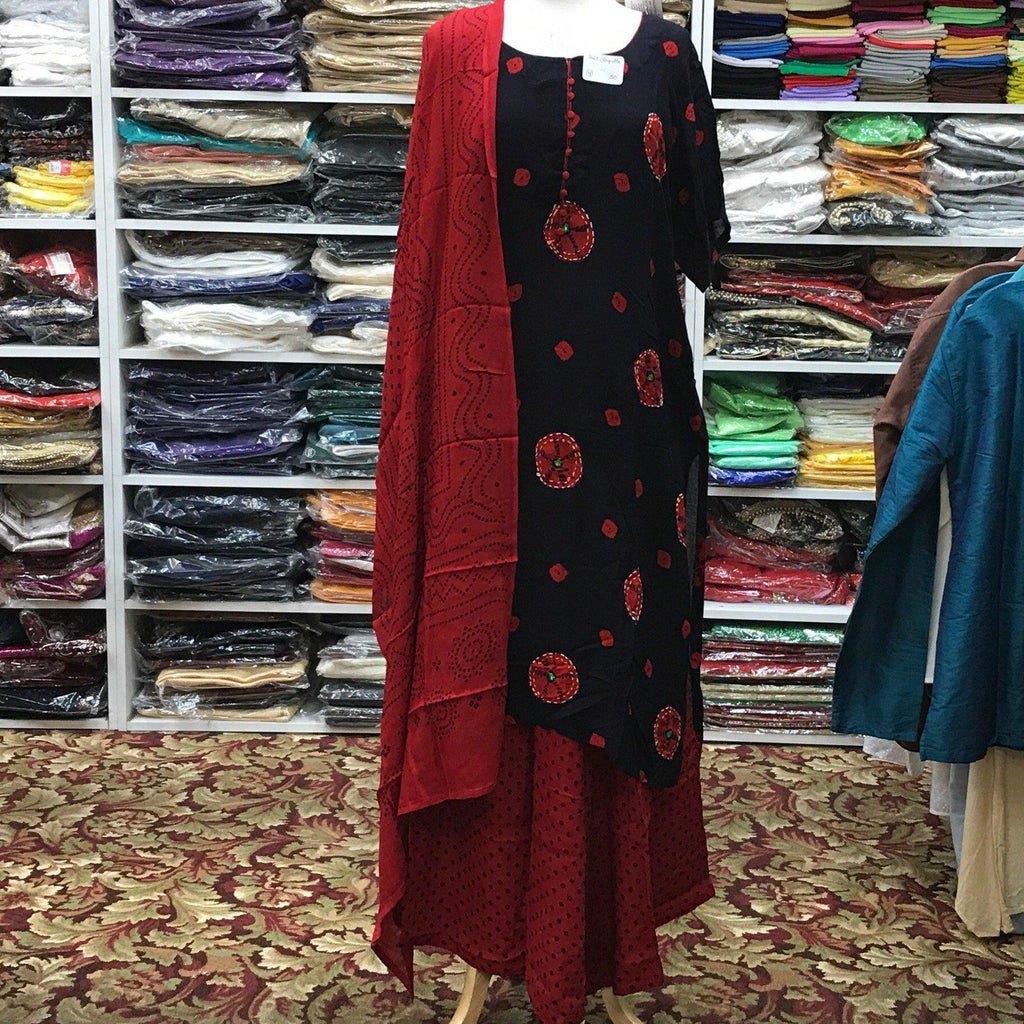 Kurta Plazo Dupatta Size 50 - Mirage Sari Center