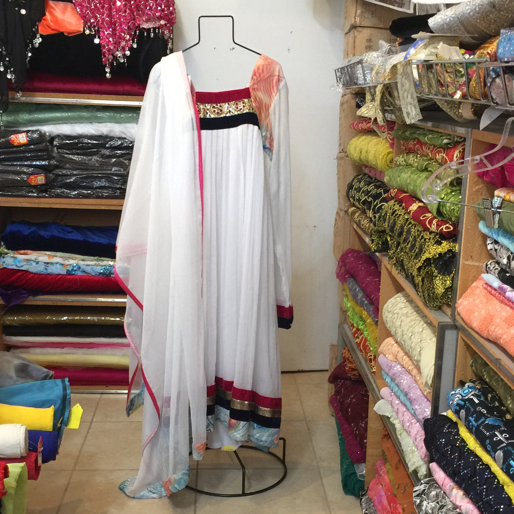 Long Anarkali Churidar Size 44