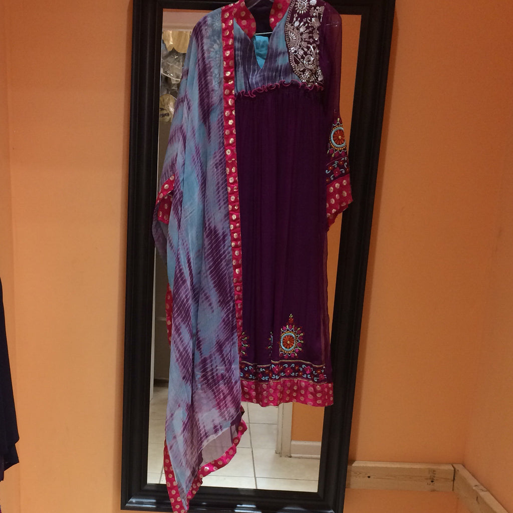 Long Anarkali Size 38