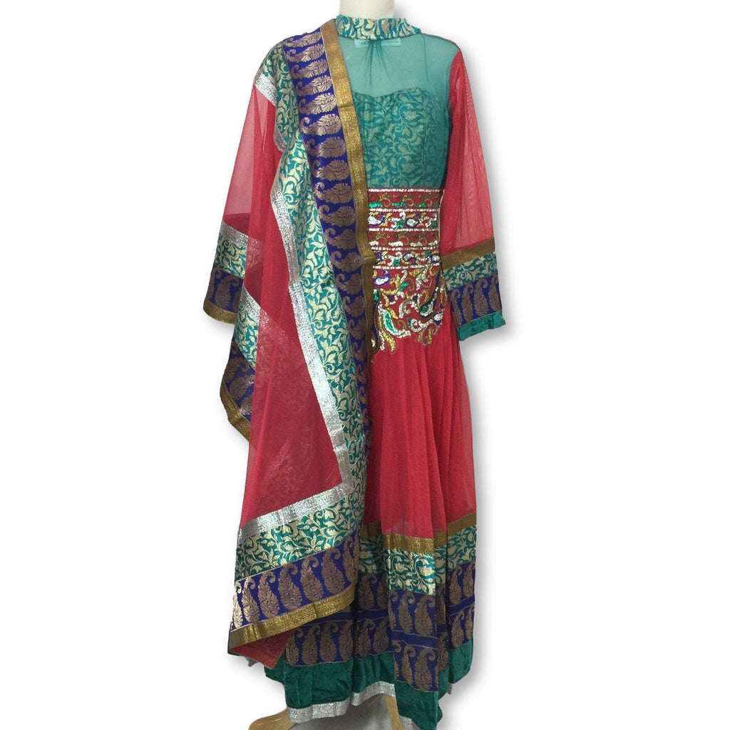 Anarkali Churidar Size L