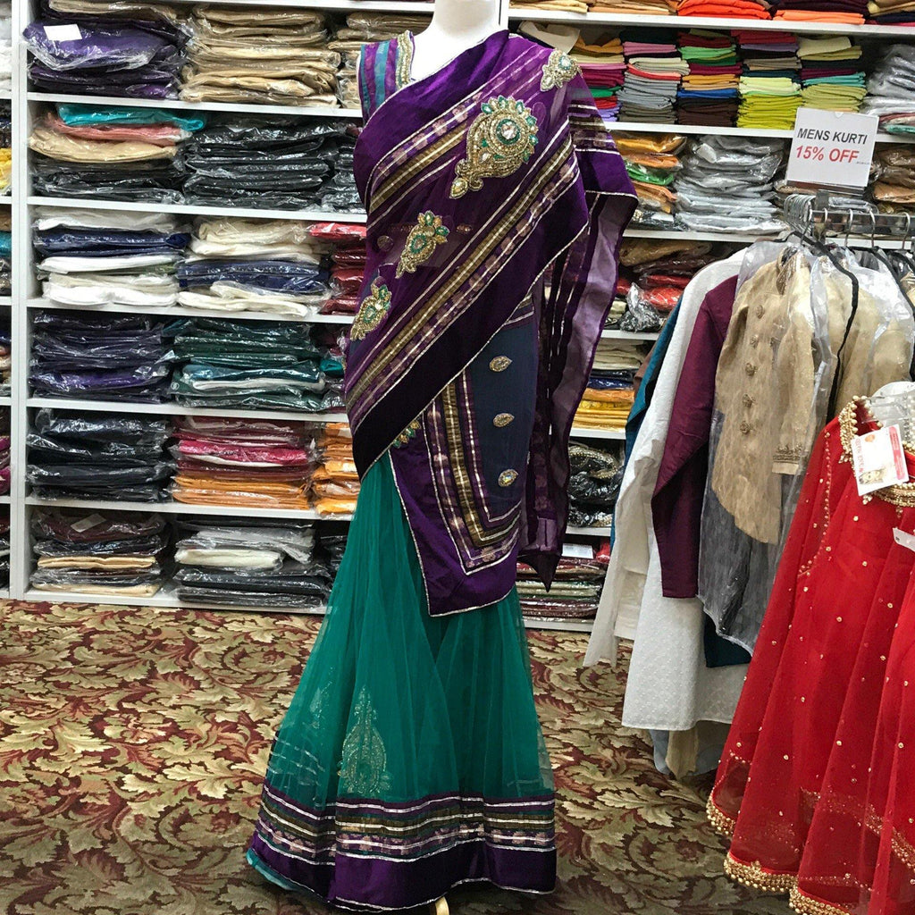 Lehenga Saree - Mirage Sari Center
