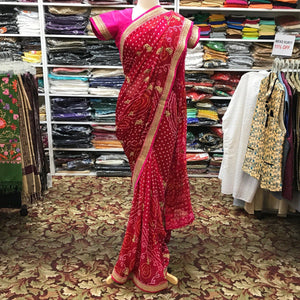 DESIGNER SAREE - Mirage Sari Center
