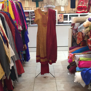 Long Anarkali Churidar Size 46