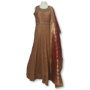 Anarkali Churidar Size 46
