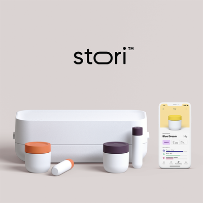 Introducing Stori, smart cannabis storage
