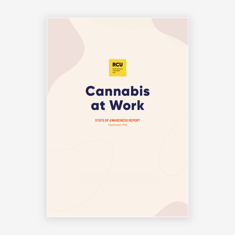 Cannabis at Work - State of Awareness - September 2019 Survey