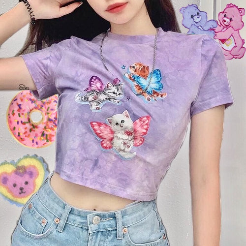 Kitty Fairy Crop Top