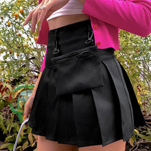 Load image into Gallery viewer, Asha Buckle-On Pleated Skirt
