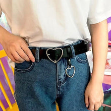 Load image into Gallery viewer, Heart Buckle Belt