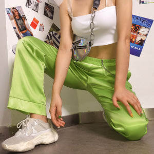 Lime Trousers