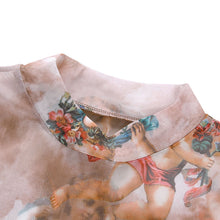 Load image into Gallery viewer, Cherub Mesh Crop Top