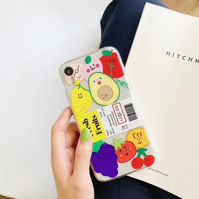Fresh Fruits iPhone Case
