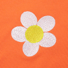 Load image into Gallery viewer, Orange Daisy Long Sleeve