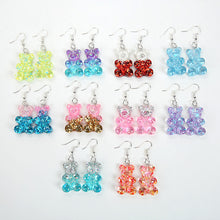 Load image into Gallery viewer, Bigger Gummy Bear Earrings