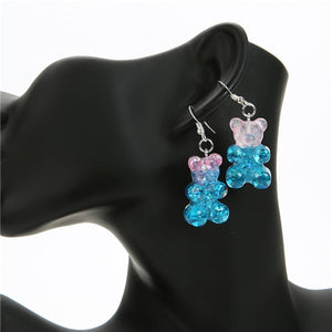 Bigger Gummy Bear Earrings