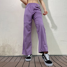 Load image into Gallery viewer, Lavender Corduroy Pants