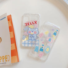Load image into Gallery viewer, Jelly Teddy Bear iPhone Case