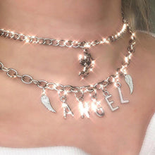 Load image into Gallery viewer, HARDCORE Silver Chain Choker
