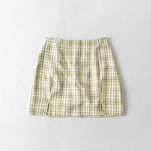 Load image into Gallery viewer, Alex Plaid Mini Skirt