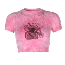 Load image into Gallery viewer, SUCH CUTE TEDDY BEAR Crop Top(s)