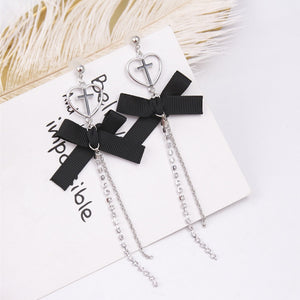 Dark Saint Drop Earrings